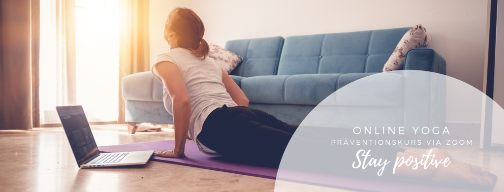 Online Yoga Präventionskurs